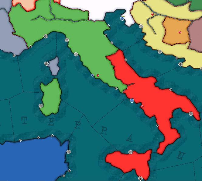 Italian Federation - Kaiserreich
